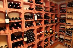 La cave de l'Auberge du Rohan, sélection de vins français