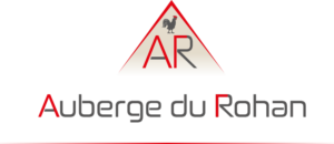 Le logo du menu de l'Auberge du Rohan