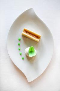 Dessert : Citron, coco et amande